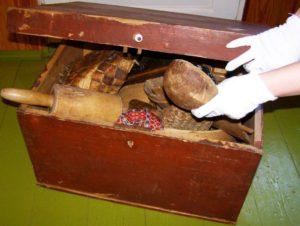Muuseum kohvris muuseumitund